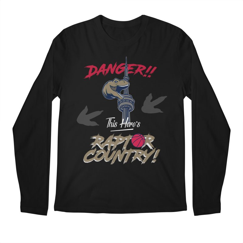 This Here's [Toronto] Raptor Country Men's Regular Longsleeve T-Shirt by Silli Philli Produktionz