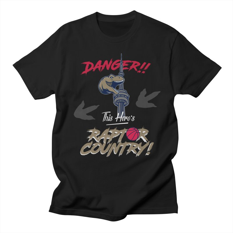 This Here's [Toronto] Raptor Country Men's Regular T-Shirt by Silli Philli Produktionz