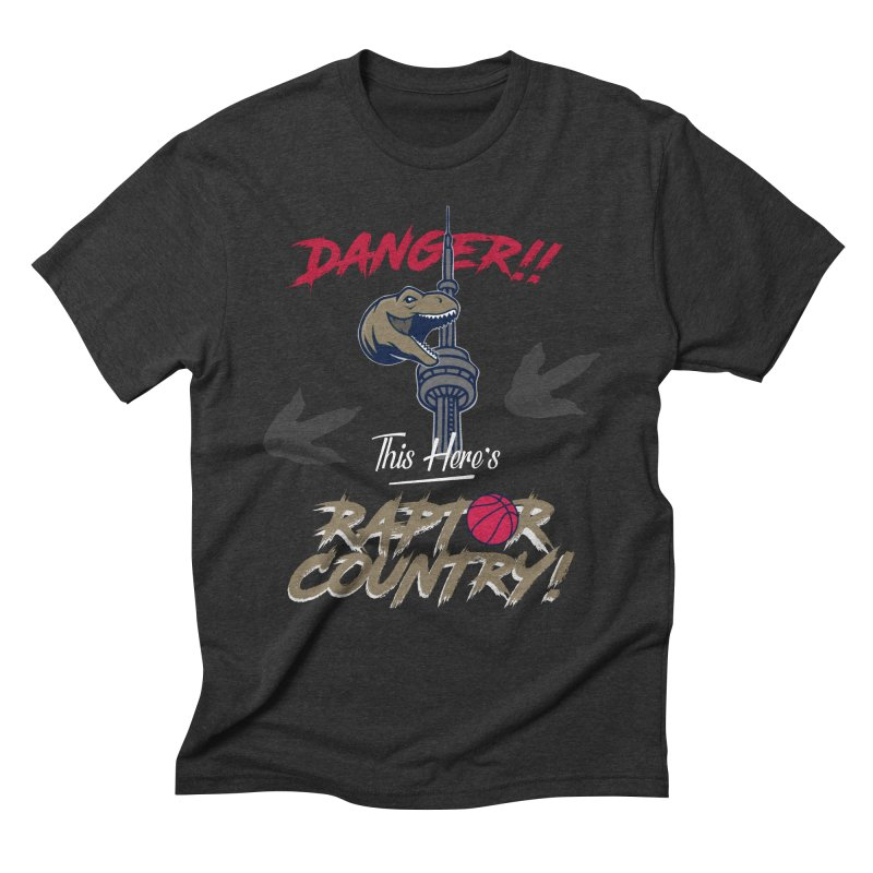 This Here's [Toronto] Raptor Country Men's Triblend T-Shirt by Silli Philli Produktionz