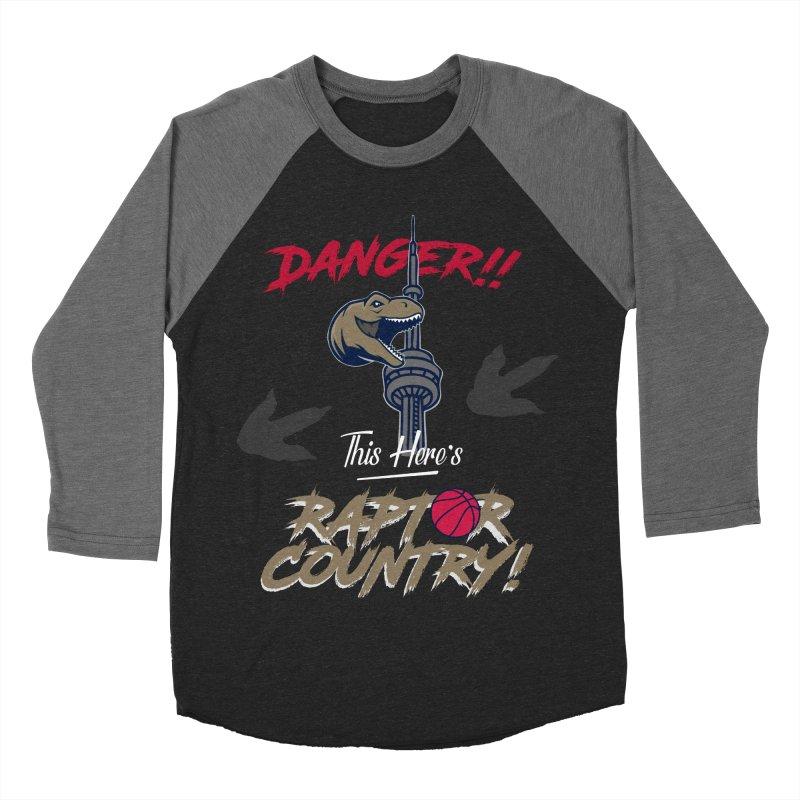 This Here's [Toronto] Raptor Country Women's Baseball Triblend Longsleeve T-Shirt by Silli Philli Produktionz | Custom Prints