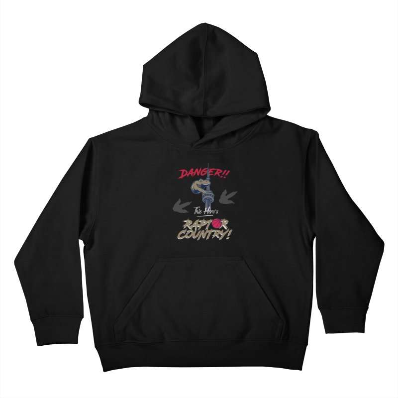 This Here's [Toronto] Raptor Country Kids Pullover Hoody by Silli Philli Produktionz