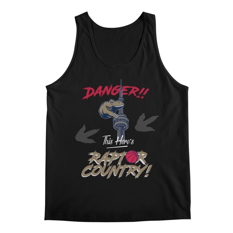 This Here's [Toronto] Raptor Country Men's Regular Tank by Silli Philli Produktionz