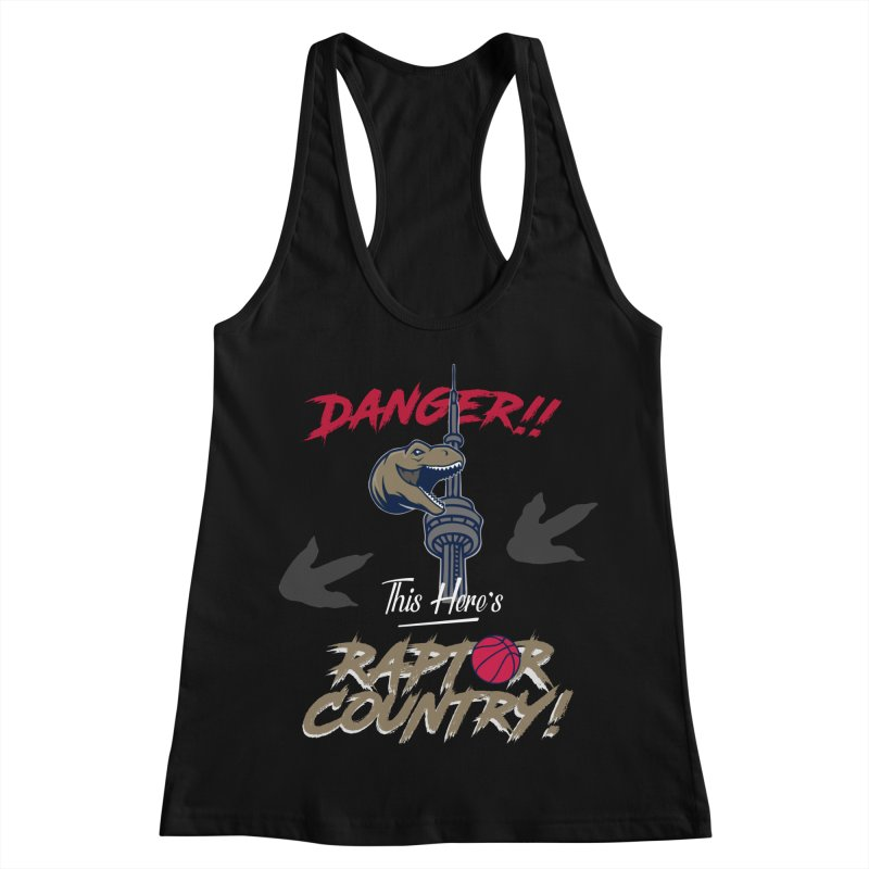 This Here's [Toronto] Raptor Country Women's Racerback Tank by Silli Philli Produktionz