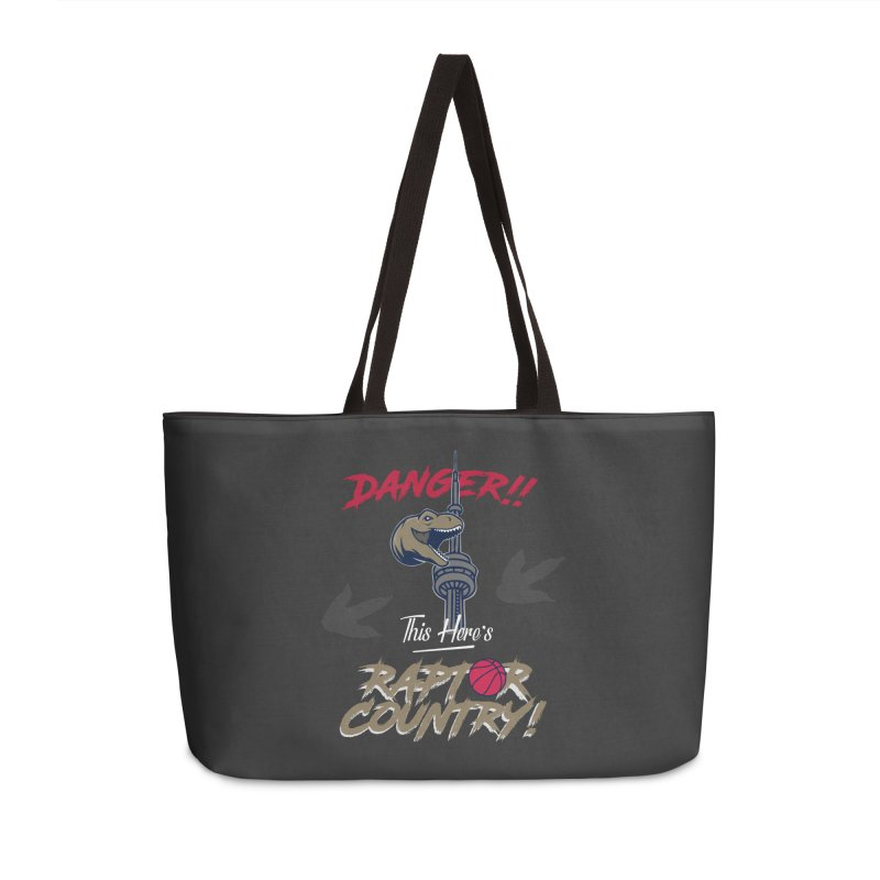 This Here's [Toronto] Raptor Country Accessories Weekender Bag Bag by Silli Philli Produktionz