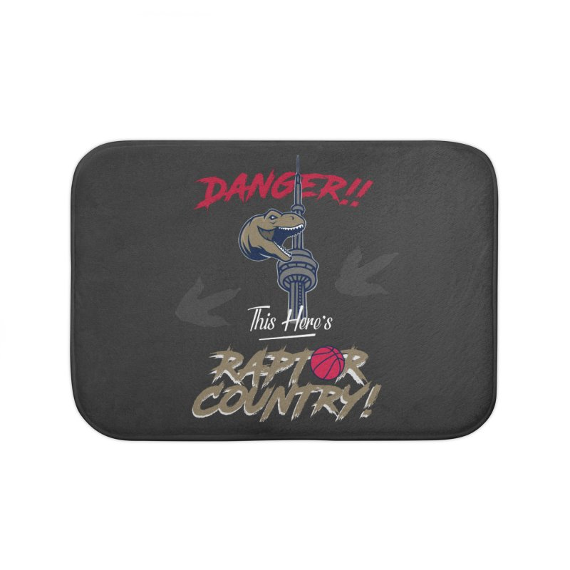 This Here's [Toronto] Raptor Country Home Bath Mat by Silli Philli Produktionz