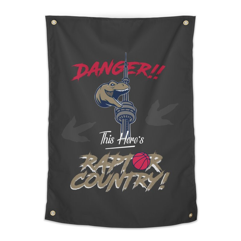 This Here's [Toronto] Raptor Country Home Tapestry by Silli Philli Produktionz