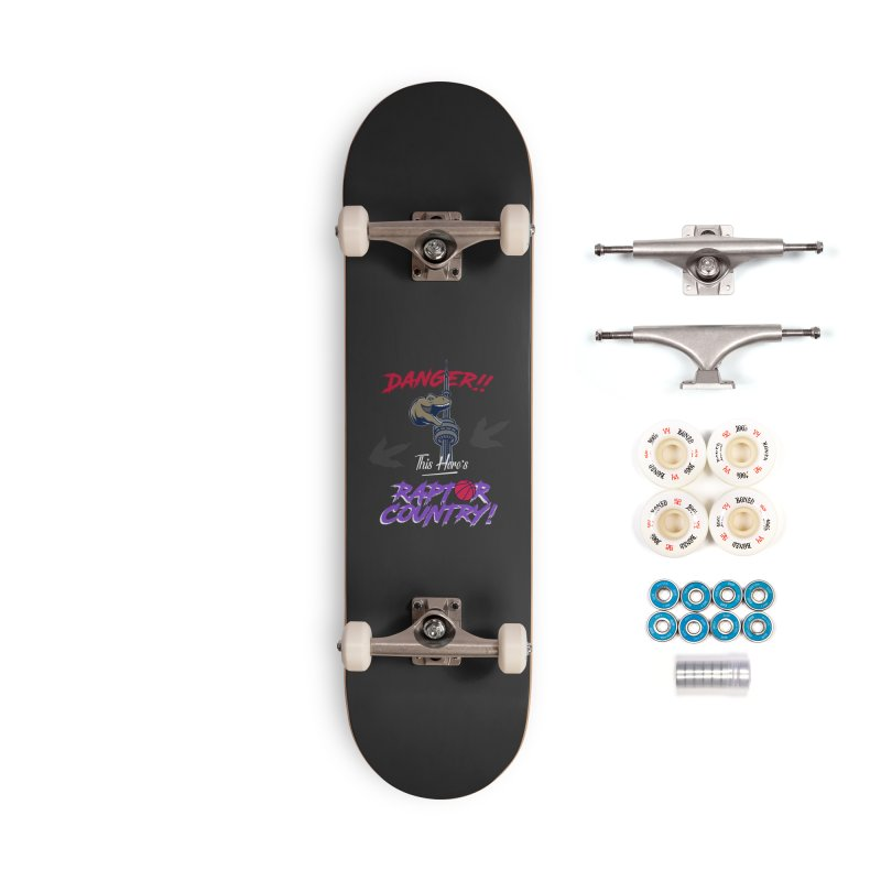 This Here's [Toronto] Raptor Country | Retro Accessories Complete - Premium Skateboard by Silli Philli Produktionz
