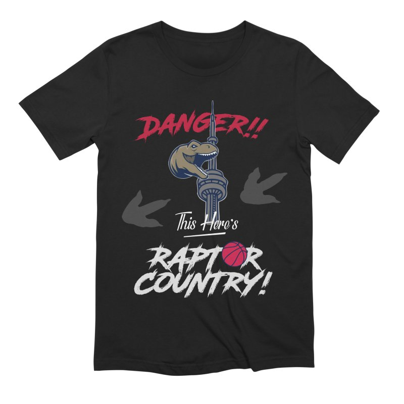 This Here's [Toronto] Raptor Country | Silver Men's Extra Soft T-Shirt by Silli Philli Produktionz