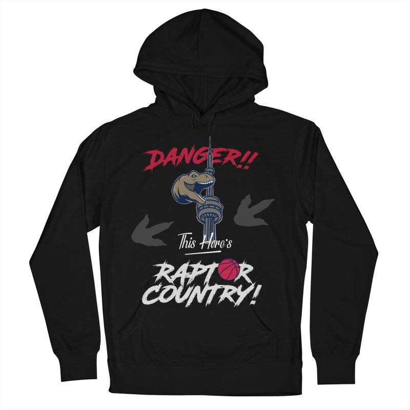 This Here's [Toronto] Raptor Country | Silver Women's French Terry Pullover Hoody by Silli Philli Produktionz