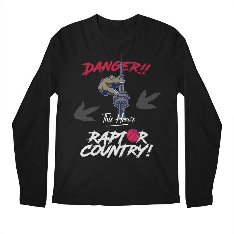 This Here's [Toronto] Raptor Country | Silver Men's Regular Longsleeve T-Shirt by Silli Philli Produktionz