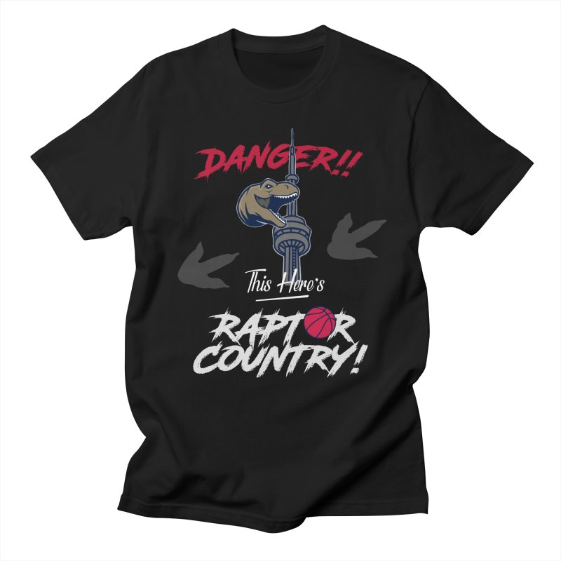 This Here's [Toronto] Raptor Country | Silver Women's Regular Unisex T-Shirt by Silli Philli Produktionz
