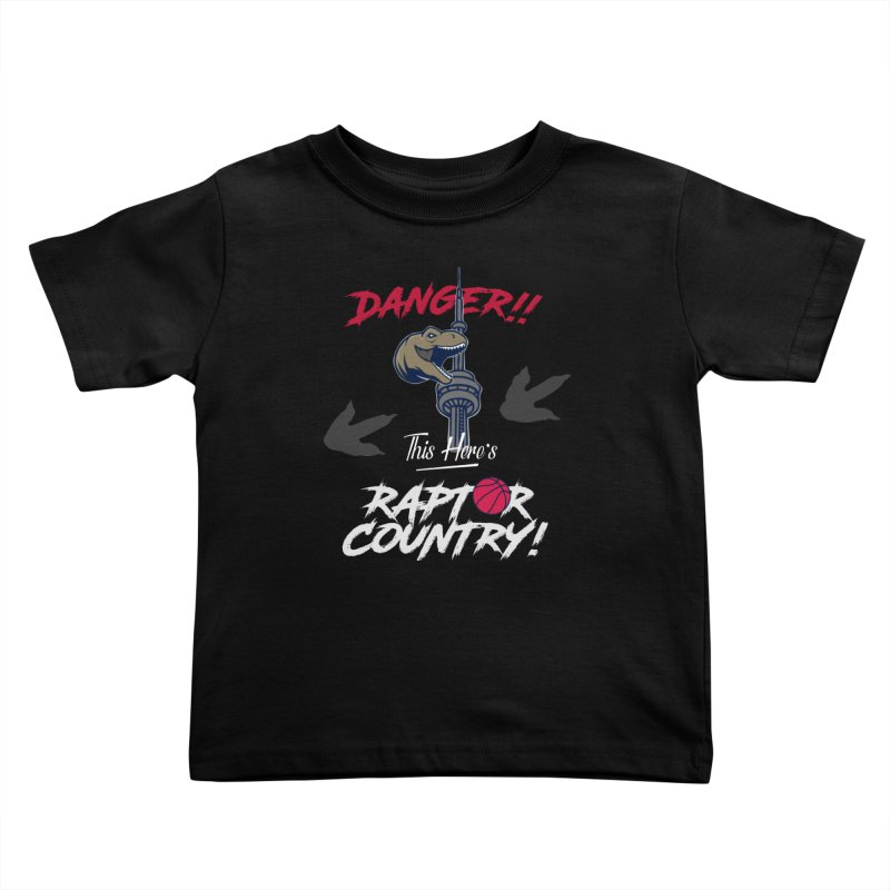 This Here's [Toronto] Raptor Country | Silver Kids Toddler T-Shirt by Silli Philli Produktionz