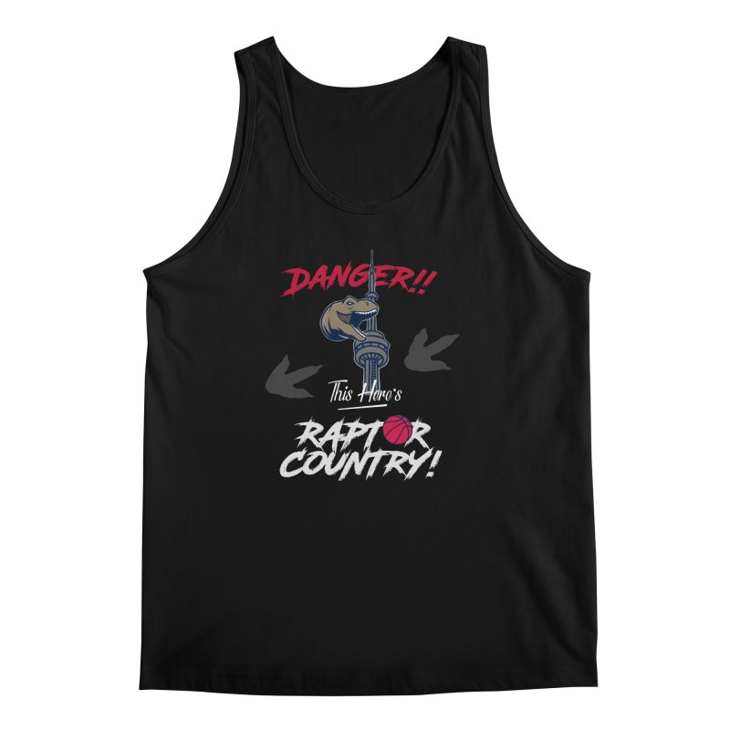 This Here's [Toronto] Raptor Country | Silver Men's Regular Tank by Silli Philli Produktionz
