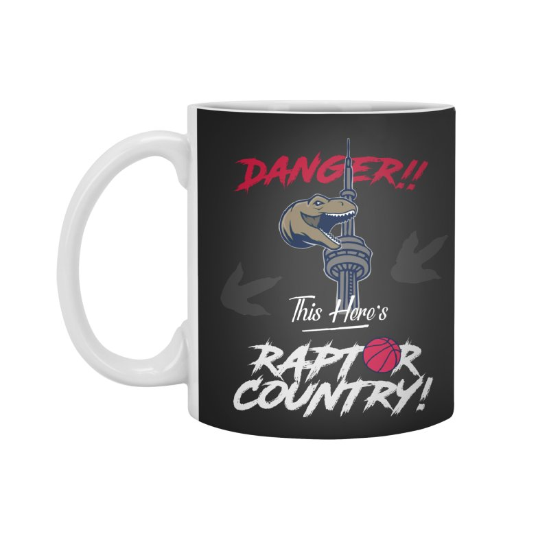 This Here's [Toronto] Raptor Country | Silver Accessories Standard Mug by Silli Philli Produktionz