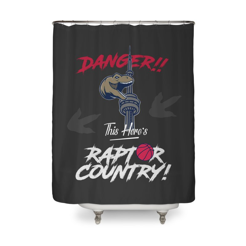 This Here's [Toronto] Raptor Country | Silver Home Shower Curtain by Silli Philli Produktionz