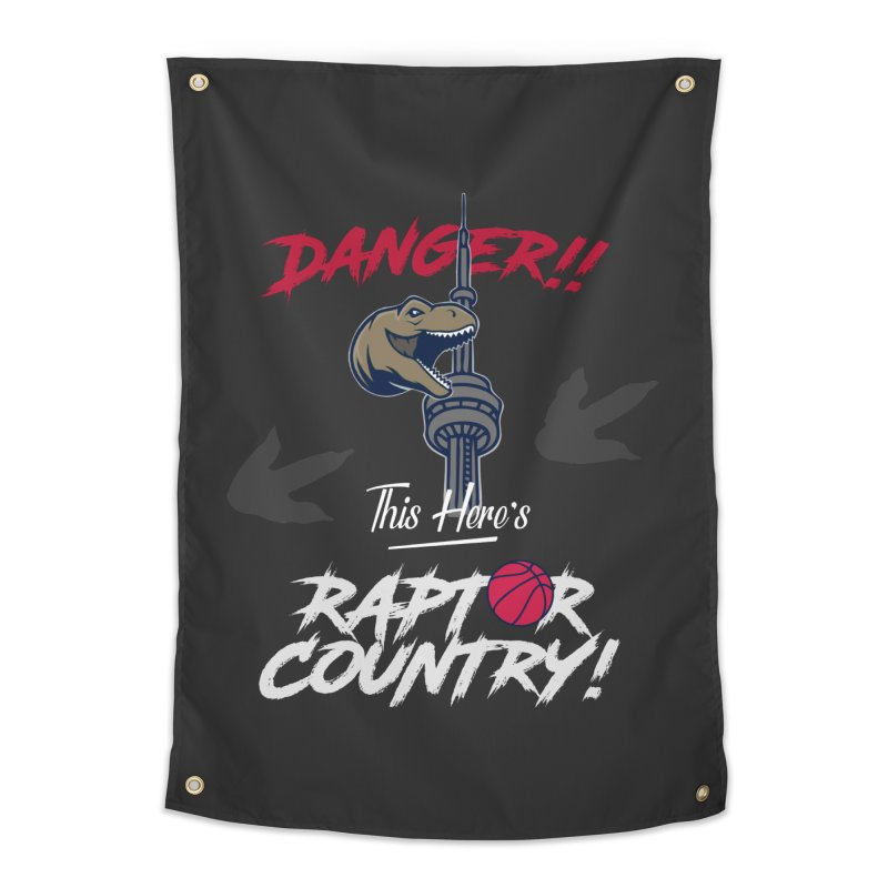 This Here's [Toronto] Raptor Country | Silver Home Tapestry by Silli Philli Produktionz