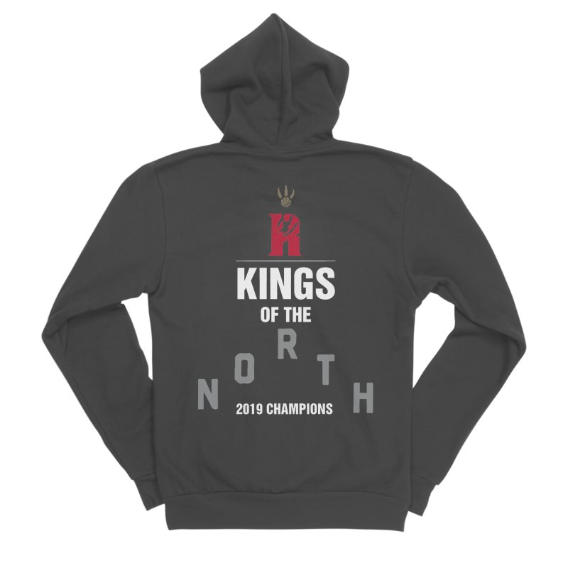 Kings of the NORTH | Champion Edition Men's Sponge Fleece Zip-Up Hoody by Silli Philli Produktionz