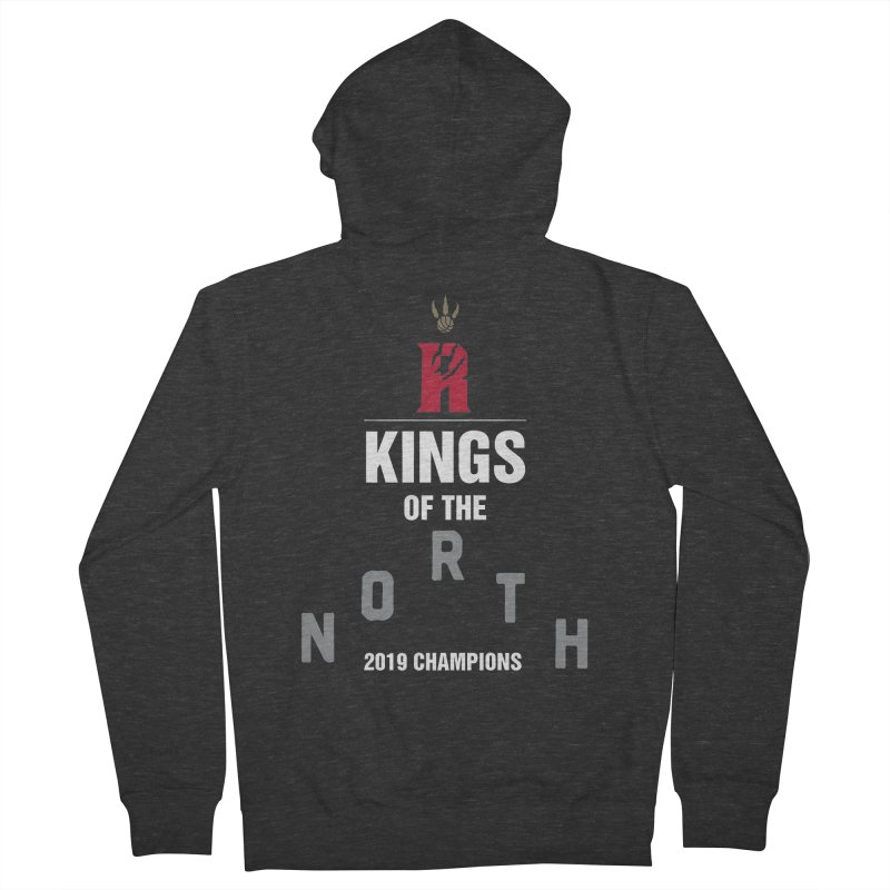 Kings of the NORTH | Champion Edition Women's French Terry Zip-Up Hoody by Silli Philli Produktionz | Custom Prints