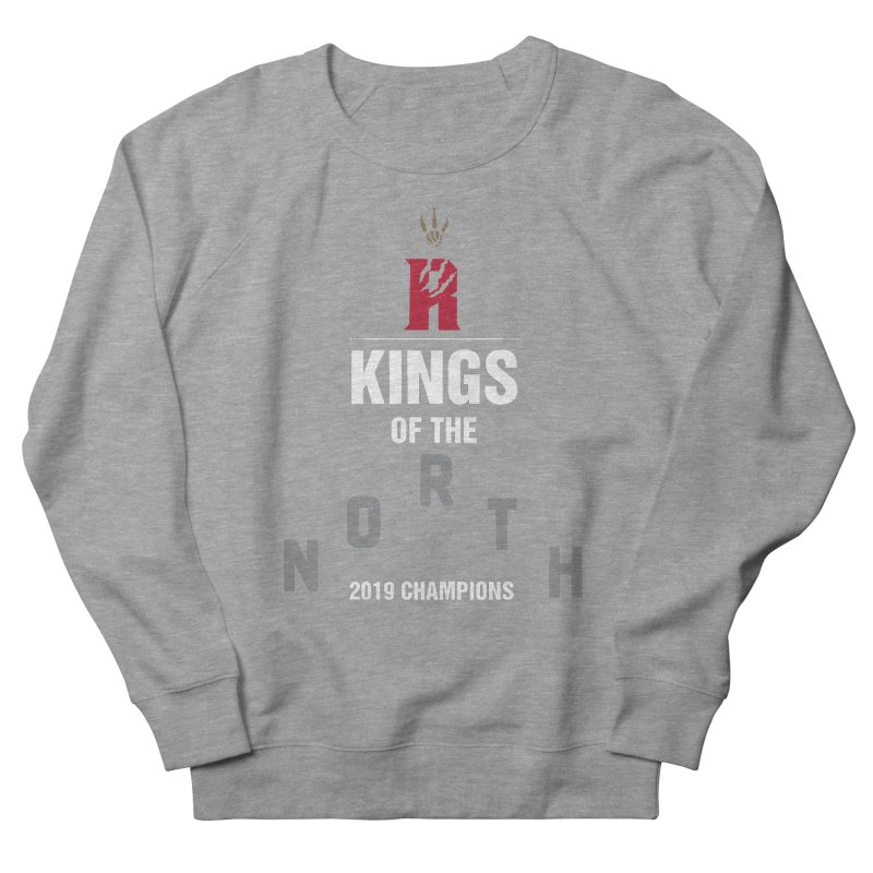 Kings of the NORTH | Champion Edition Men's French Terry Sweatshirt by Silli Philli Produktionz