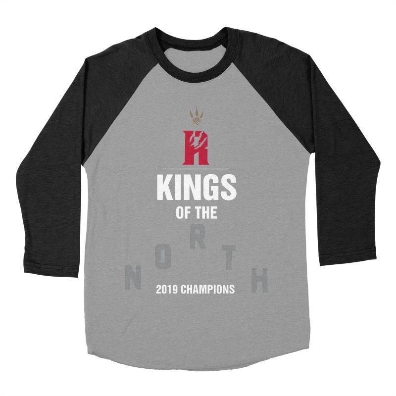 Kings of the NORTH | Champion Edition Women's Baseball Triblend Longsleeve T-Shirt by Silli Philli Produktionz | Custom Prints