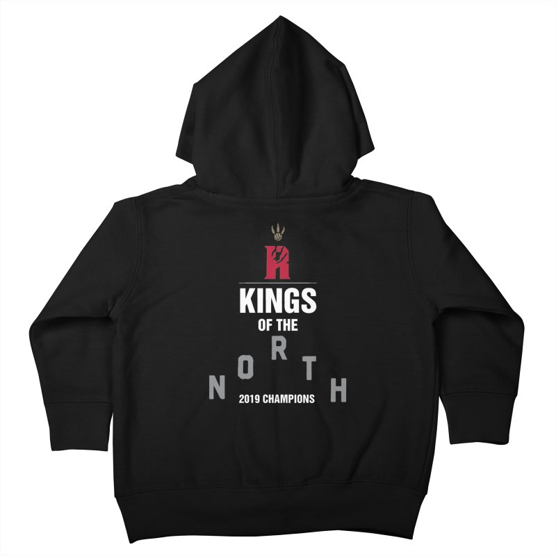 Kings of the NORTH | Champion Edition Kids Toddler Zip-Up Hoody by Silli Philli Produktionz