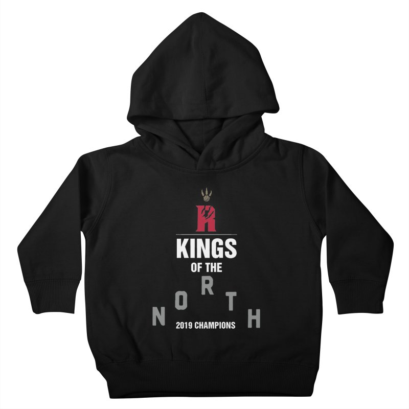 Kings of the NORTH | Champion Edition Kids Toddler Pullover Hoody by Silli Philli Produktionz