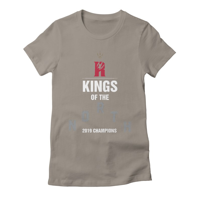 Kings of the NORTH | Champion Edition Women's Fitted T-Shirt by Silli Philli Produktionz | Custom Prints