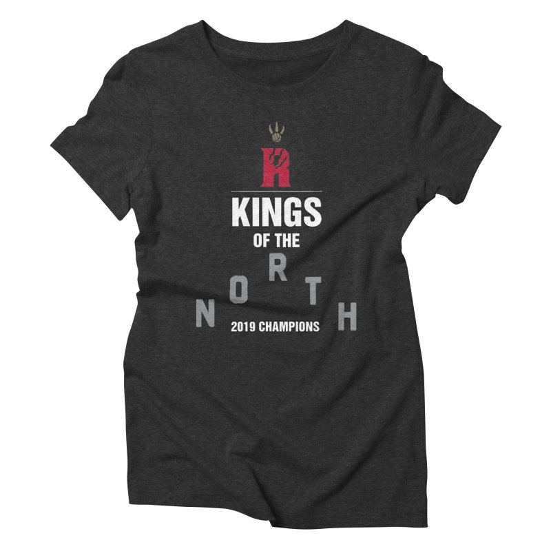 Kings of the NORTH | Champion Edition Women's Triblend T-Shirt by Silli Philli Produktionz