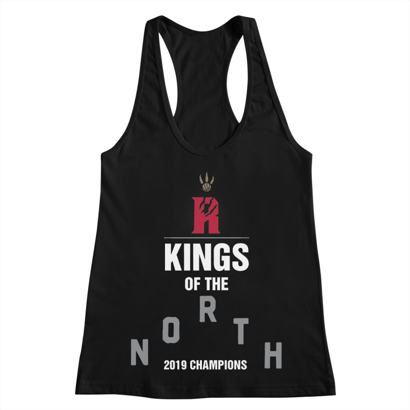 Kings of the NORTH | Champion Edition Women's Racerback Tank by Silli Philli Produktionz