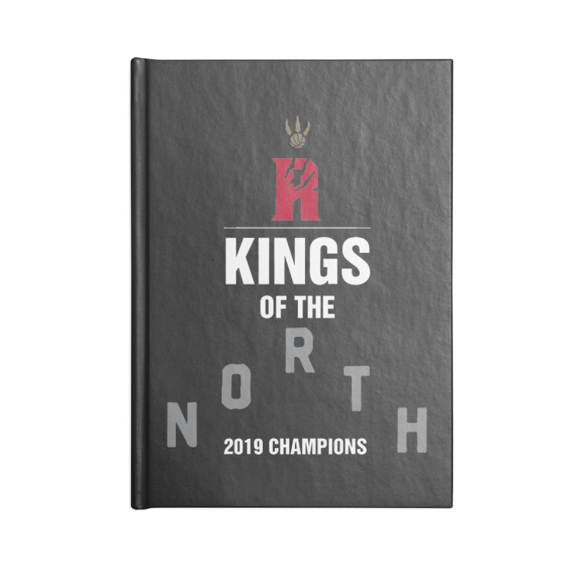 Kings of the NORTH | Champion Edition Accessories Lined Journal Notebook by Silli Philli Produktionz | Custom Prints