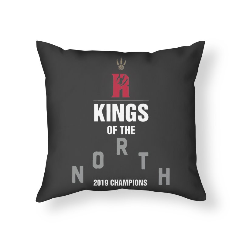 Kings of the NORTH | Champion Edition Home Throw Pillow by Silli Philli Produktionz