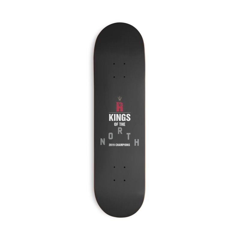 Kings of the NORTH | Champion Edition Accessories Deck Only Skateboard by Silli Philli Produktionz | Custom Prints
