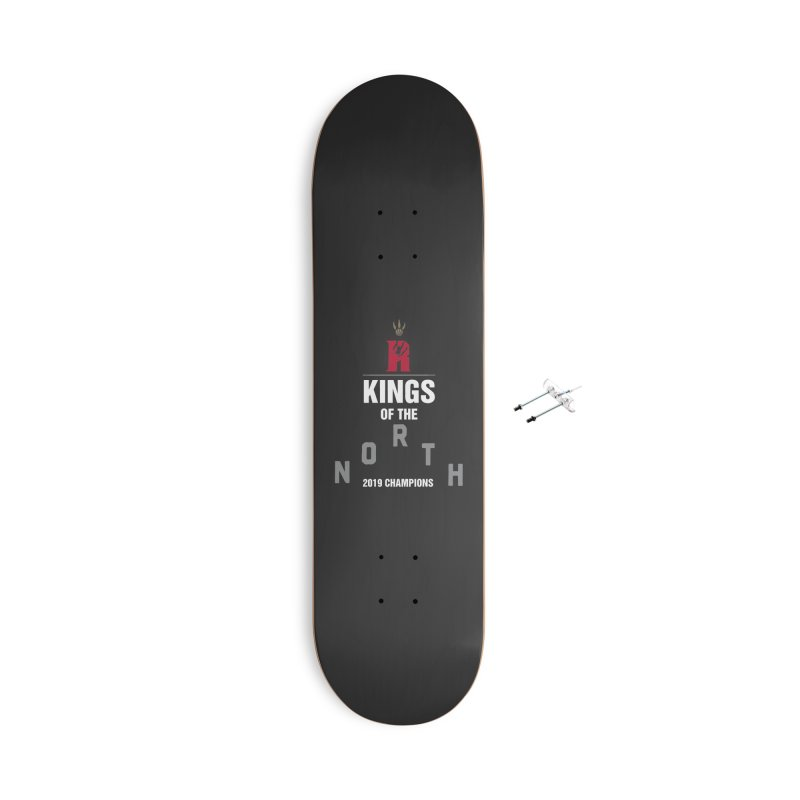 Kings of the NORTH | Champion Edition Accessories With Hanging Hardware Skateboard by Silli Philli Produktionz | Custom Prints
