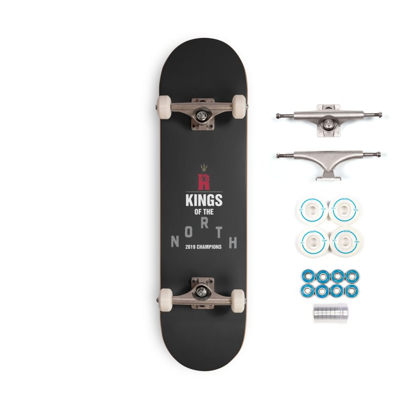 Kings of the NORTH | Champion Edition Accessories Complete - Basic Skateboard by Silli Philli Produktionz