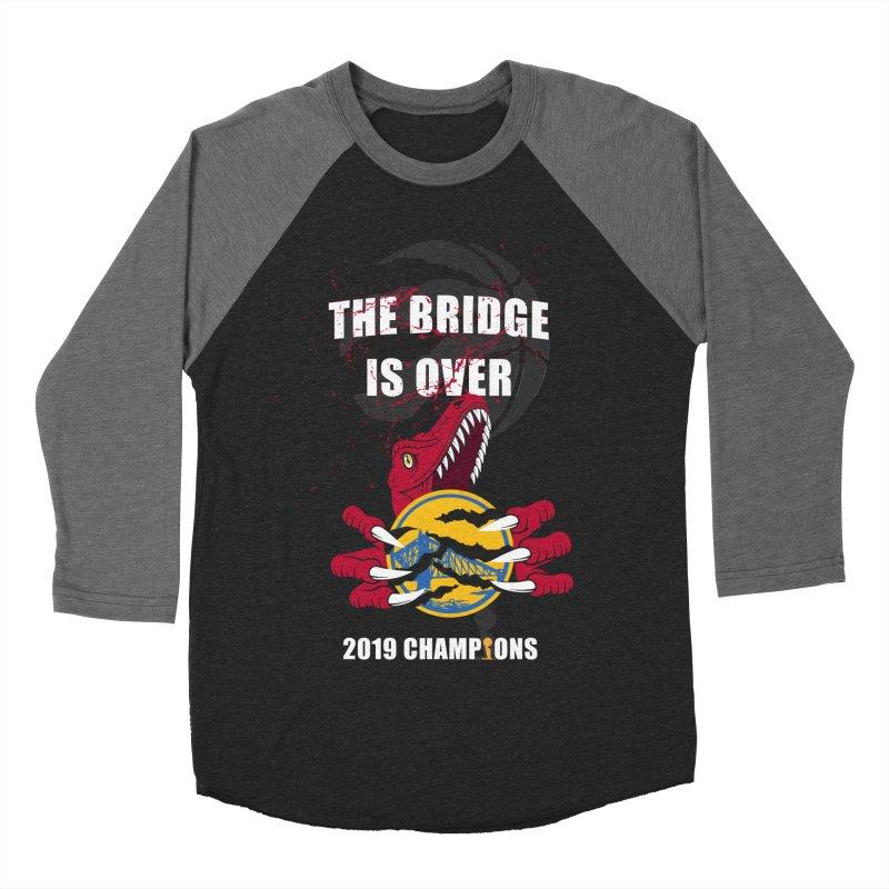 The Bridge Is Over | Toronto Raptors Champions Women's Baseball Triblend Longsleeve T-Shirt by Silli Philli Produktionz