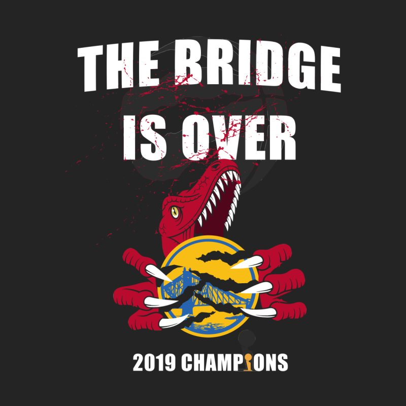 The Bridge Is Over | Toronto Raptors Champions Women's V-Neck by Silli Philli Produktionz | Custom Prints