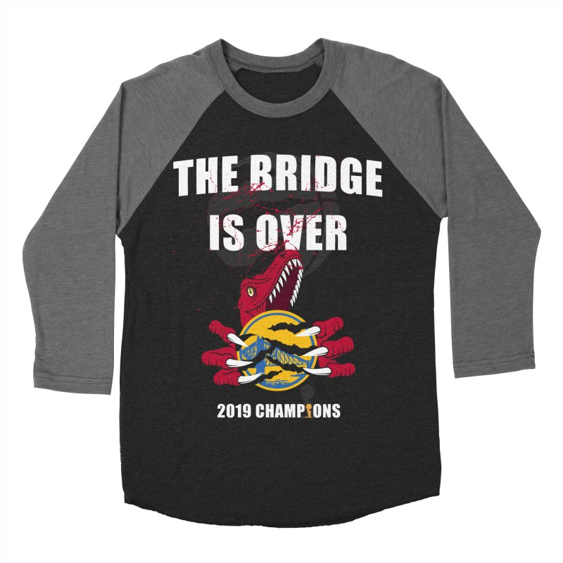 The Bridge Is Over | Toronto Raptors Champions Women's Baseball Triblend Longsleeve T-Shirt by Silli Philli Produktionz