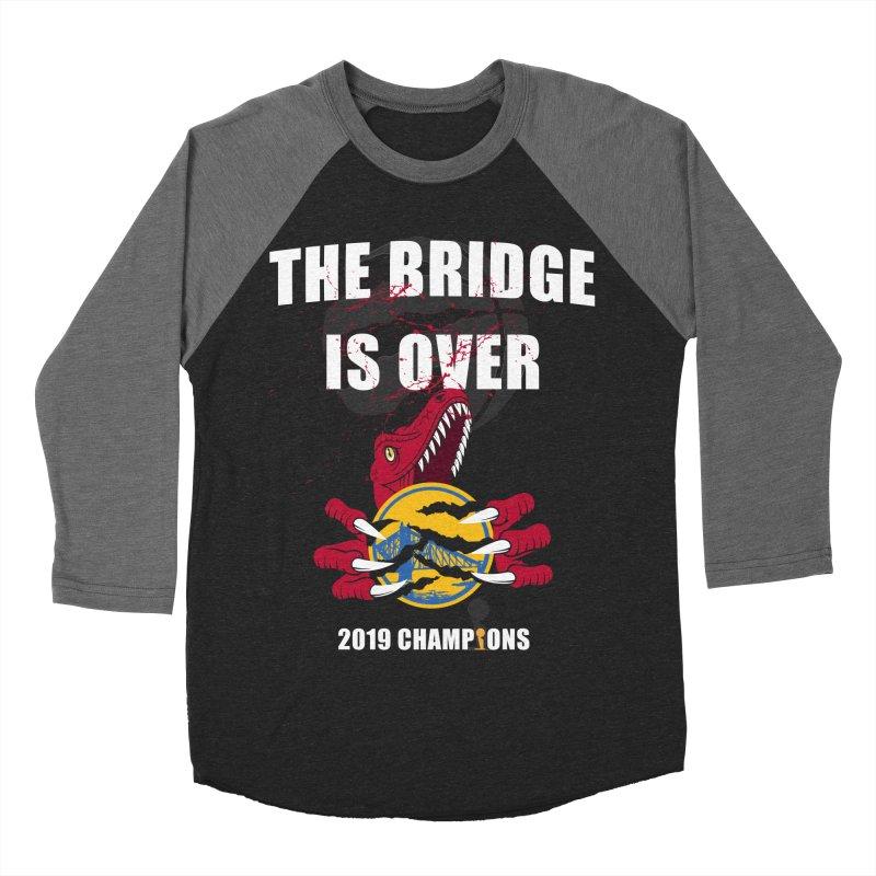 The Bridge Is Over | Toronto Raptors Champions Men's Baseball Triblend Longsleeve T-Shirt by Silli Philli Produktionz