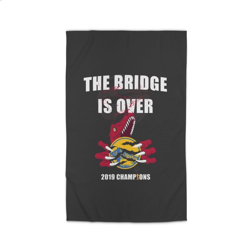 The Bridge Is Over | Toronto Raptors Champions Home Rug by Silli Philli Produktionz