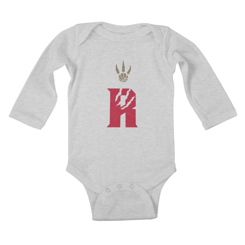 [Toronto] Raptors R Kings Kids Baby Longsleeve Bodysuit by Silli Philli Produktionz