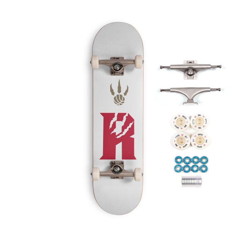 [Toronto] Raptors R Kings Accessories Complete - Premium Skateboard by Silli Philli Produktionz