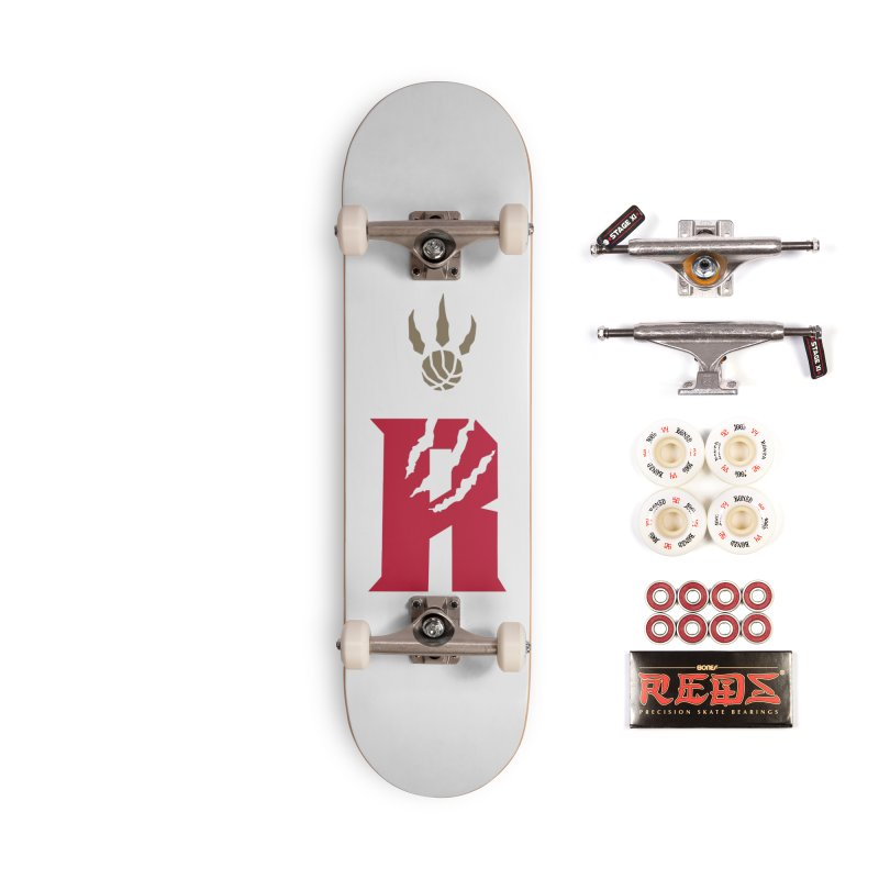 [Toronto] Raptors R Kings Accessories Complete - Pro Skateboard by Silli Philli Produktionz | Custom Prints