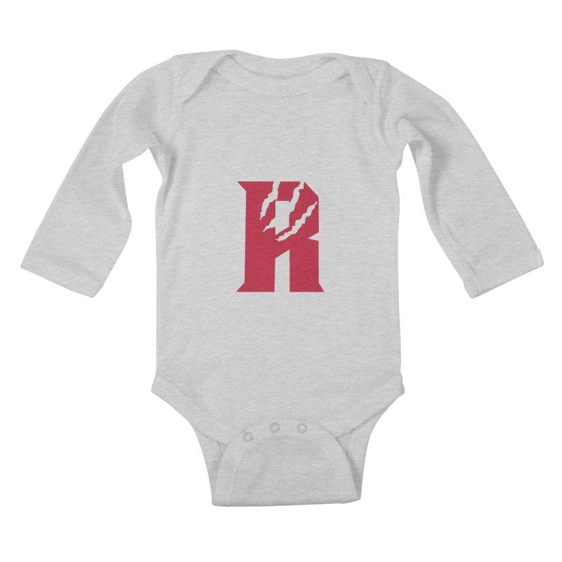 Raptors R Kids Baby Longsleeve Bodysuit by Silli Philli Produktionz