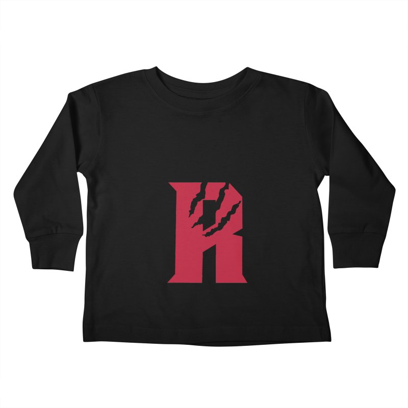 Raptors R Kids Toddler Longsleeve T-Shirt by Silli Philli Produktionz