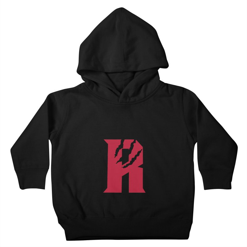 Raptors R Kids Toddler Pullover Hoody by Silli Philli Produktionz