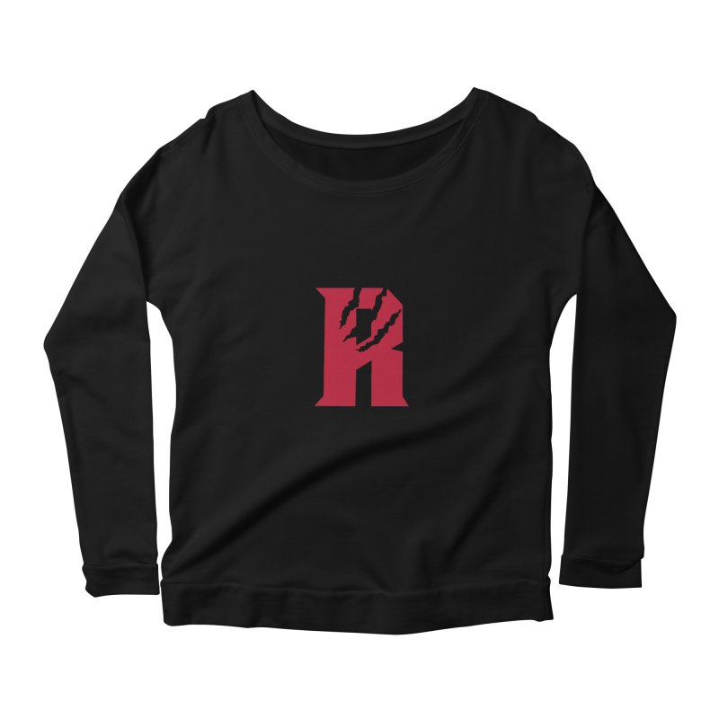 Raptors R Women's Scoop Neck Longsleeve T-Shirt by Silli Philli Produktionz
