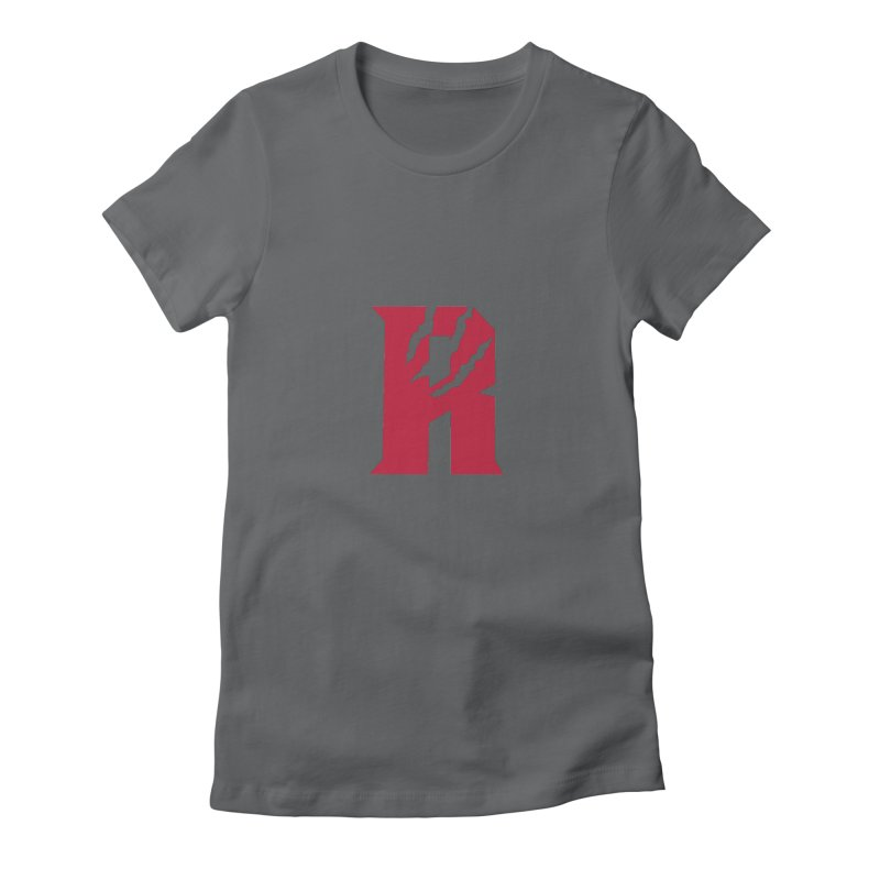 Raptors R Women's Fitted T-Shirt by Silli Philli Produktionz