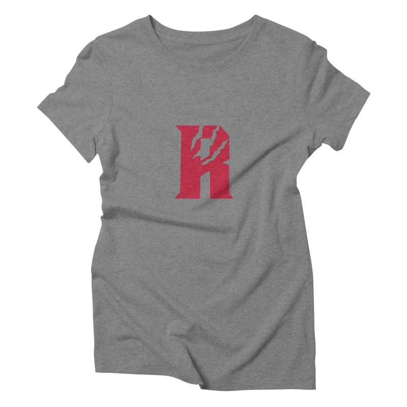 Raptors R Women's Triblend T-Shirt by Silli Philli Produktionz