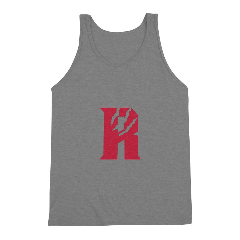 Raptors R Men's Triblend Tank by Silli Philli Produktionz