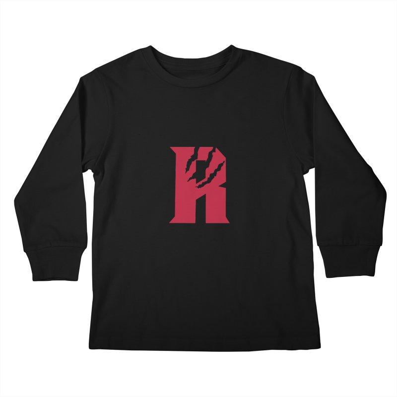 Raptors R Kids Longsleeve T-Shirt by Silli Philli Produktionz